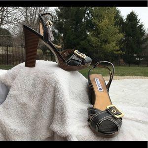 NWT American eagle sandal heels